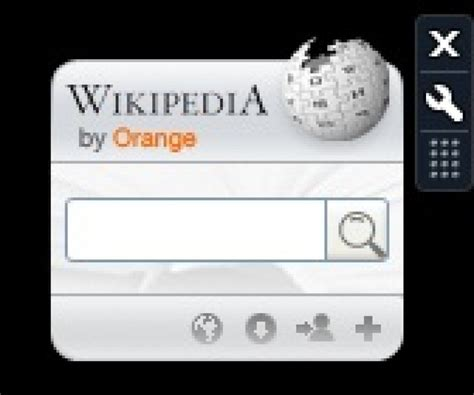 Wikipedia Gadget 1.0.0 - Descargar gratis en español