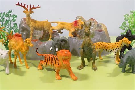 Wild Animals Fun Video for Children - Jungle, Safari ...