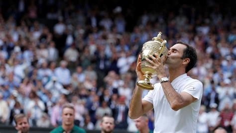 Wimbledon 2017 final, highlights: Roger Federer wins ...