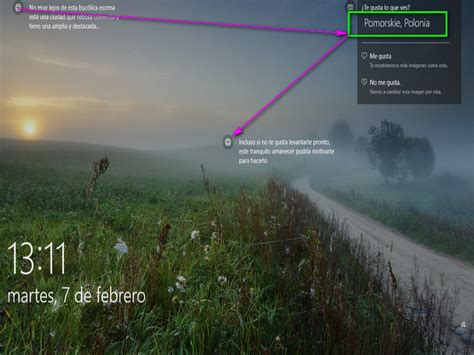 Windows 10 | Acerca del fondo Pantalla de Bloqueo ...