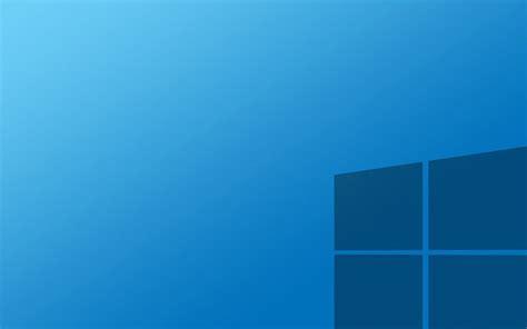 Windows 10 azul del papel pintado fondos de pantalla gratis