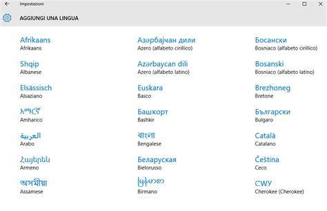Windows 10, scaricare i Language Pack e impostare la ...