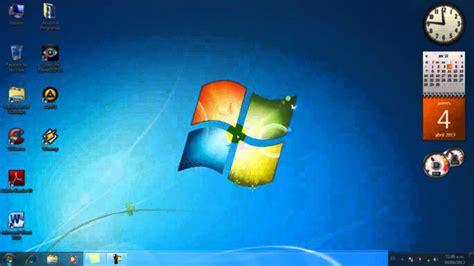 Windows 7 - Partes del escritorio - YouTube