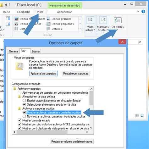 Windows 8: Como mostrar y ocultar las carpetas y archivos ...