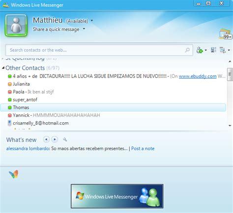 Windows Live Messenger Portable  Windows    Download