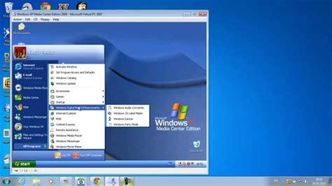 Windows XP Media Center Edition 2005 IN Microsoft Virtual ...