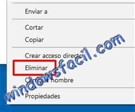 Windowsfacil. Manual para borrar archivos y carpetas en ...