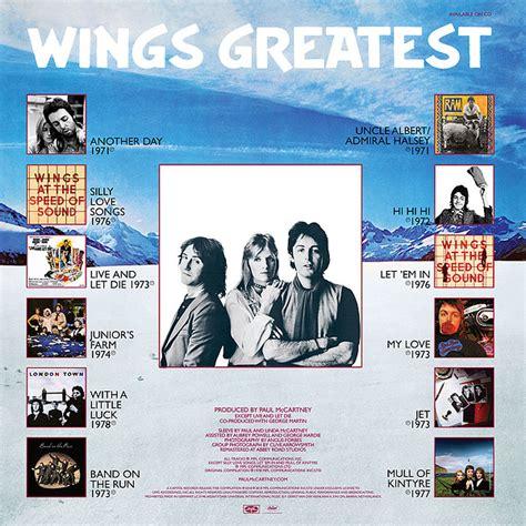 Wings Greatest (Official album) by Paul McCartney & Wings ...