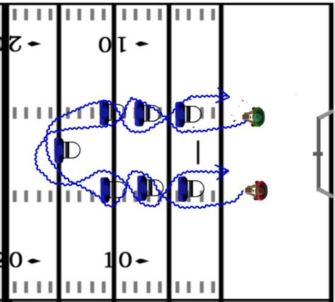 Winning Running Back Drills  that are also fun ...