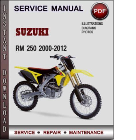 Wiring Diagram 2000 Rm 125 Rider RM 125 ~ Elsavadorla