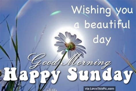 Wishing You A Beautiful Day Good Morning Happy Sunday ...
