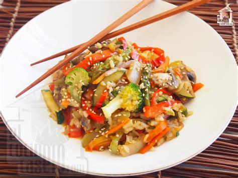 Wok de verduras con soja · El cocinero casero   Entrantes