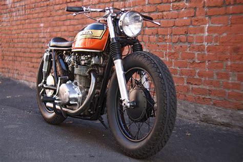 Wolf bikes: HONDA CB450 CAFE RACER