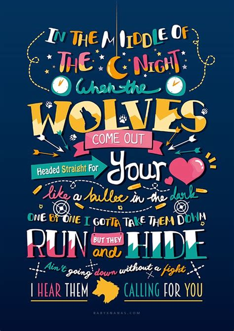 Wolves ~ One Direction   fondos   Pinterest   Letras ...