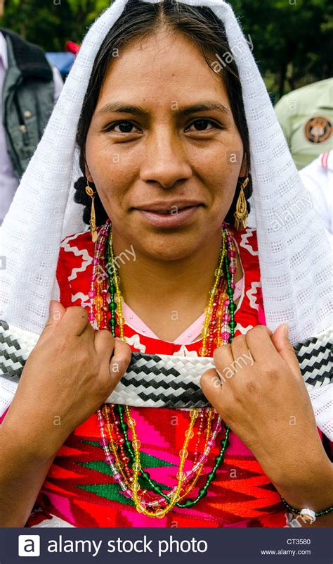 Women in traditional Mexican costume Mexico City Mexico ...