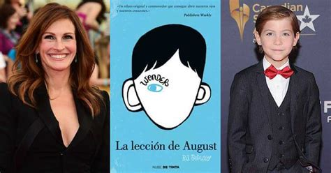 Wonder (La leccion de August) ya empieza a dejarse ver ...