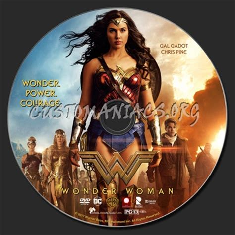 Wonder Woman  2017  dvd label   DVD Covers & Labels by ...