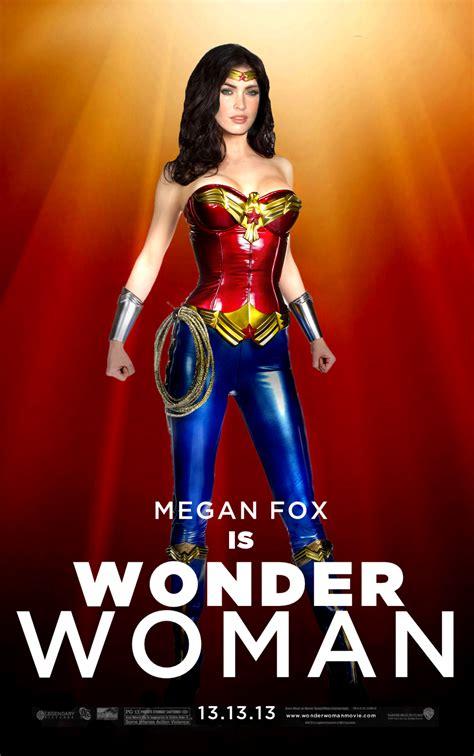 Wonder Woman Megan Fox by Jo7a on DeviantArt