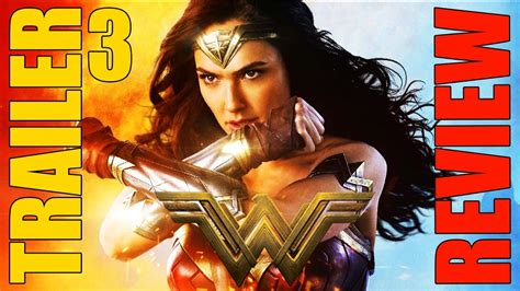 WONDER WOMAN   Official Trailer 3 [HD]   CRÍTICA   REVIEW ...