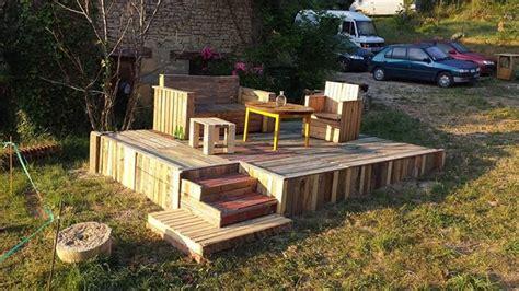 Wonderful Pallets Stage With Furniture | Regina Mcgill