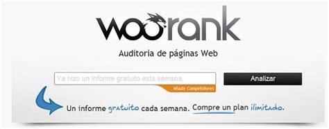 WooRank: Herramienta SEO para conocer el estado de un ...
