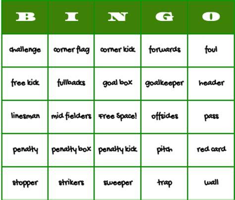 Word Bingo Generator