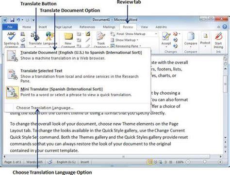 Word translator – Zakelijke mogelijkheden