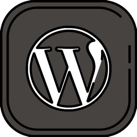 Wordpress   Iconos gratis de medios de comunicación social