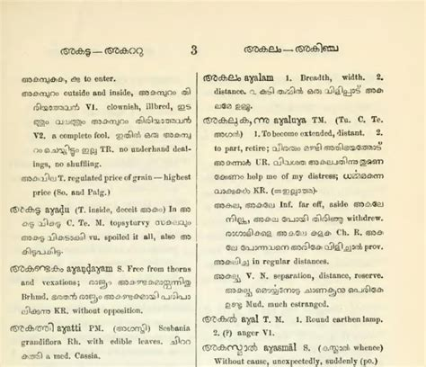 Words and what not: Digitizing a #Malayalam #dictionary