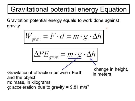 Work, Energy, and Power Lesson 1: Basic Terminology and ...