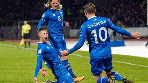 World Cup 2018: Iceland become smallest nation to reach ...