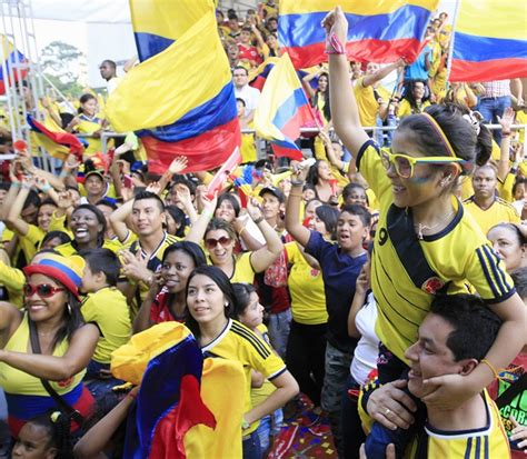 World Cup PHOTOS: This is how Colombians welcome their ...