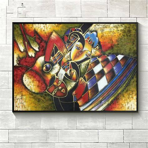 World famous paintings Picasso abstract painting Woman ...