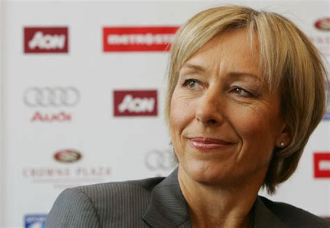 WORLD FAMOUS PEOPLE: Martina Navratilova
