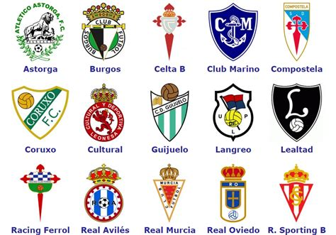 World Football Badges News: Spain   Segunda Division B ...