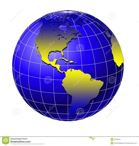 World globe 4 stock illustration. Illustration of africa ...