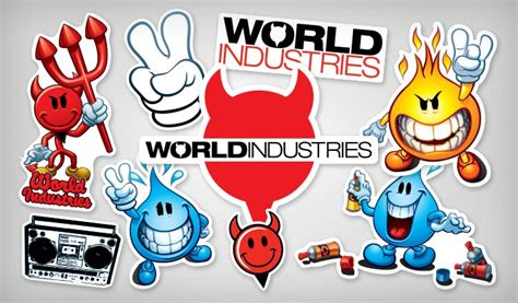 World Industries Stickers | StickerYou Products