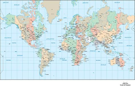World Map Time Zones Vector - Free Vector Site | Download ...