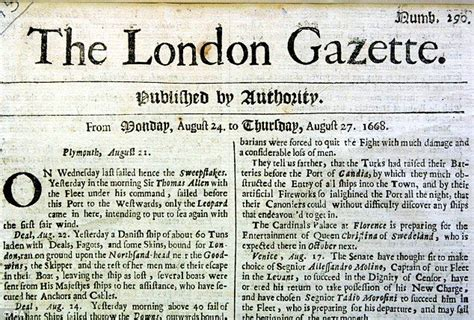 World s first English newspaper expected to fetch £15,000 ...