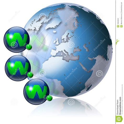World Wide Web Globe Stock Photography - Image: 19934642