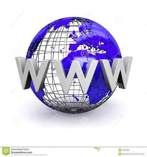 World Wide Web Illustration Stock Illustration - Image ...
