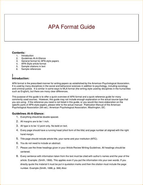 Writing Research Paper Apa Style - Bamboodownunder.com