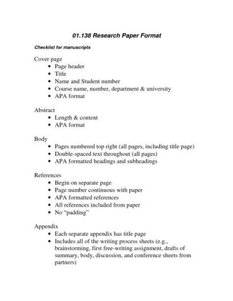 Writing term paper outline format