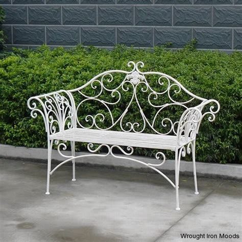 wrought iron garden benches   28 images   wrought iron ...