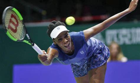 WTA Finals: Venus Williams to face Caroline Wozniacki ...