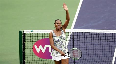 WTA INDIAN WELLS   Venus Williams, age is just a number