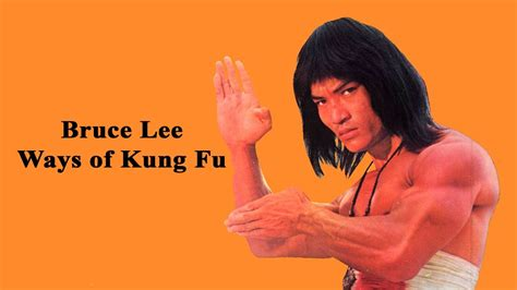 Wu Tang Collection - Bruce Lee's Ways of Kung Fu - YouTube