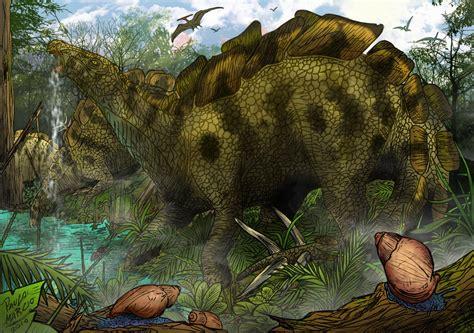 Wuerhosaurus - Dinosaur series by pauloomarcio on DeviantArt