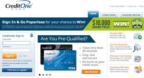 www.creditonebank.com: Credit One Bank Credit Card Login ...