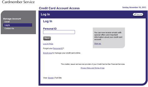 www.Myaccountaccess.com   Access Elan Cardmember Services ...